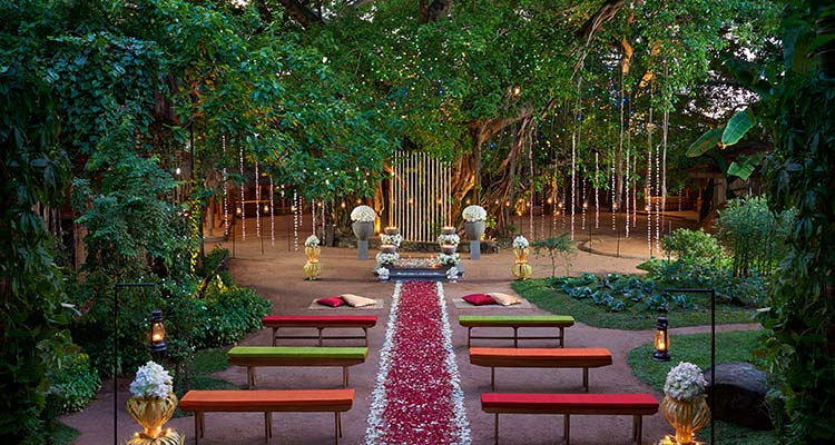 Wedding Setting at Luxury Hotel in Colombo